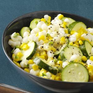 Spicy Zucchini Corn Medley Recipe