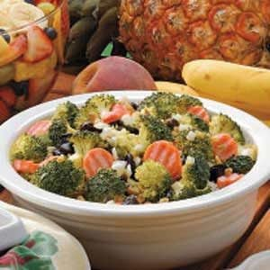Raisin Broccoli Salad Recipe