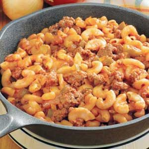 Hamburger Mac Skillet Recipe