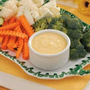 Mustard Vegetable Dip Recipe