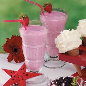 Strawberry Shakes Recipe