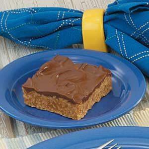No-Bake Cereal Peanut Butter Bars Recipe
