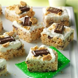 S'mores Crispy Bars Recipe