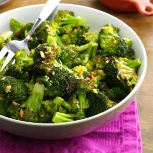 Lemon Pepper Roasted Broccoli Recipe