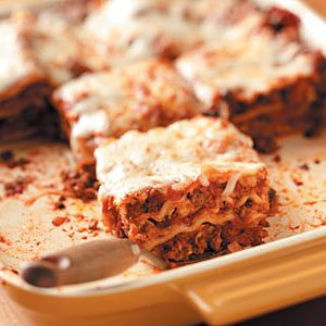 Aunt May's Lasagna Recipe