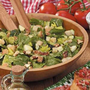 Walnut Romaine Salad