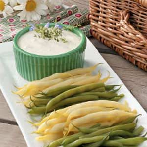 Picnic Beans with Dip Recipe