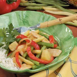 String Bean Chicken Skillet Recipe