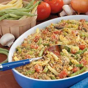 Two-Bean Tomato Bake Recipe