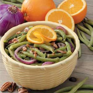 Nutty Onion Green Beans Recipe