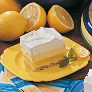 Lemon Cream Dessert Recipe