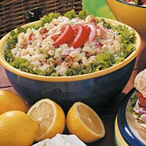 Bacon, Lettuce, Tomato Macaroni Salad Recipe
