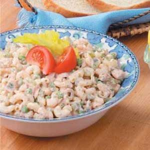 Tangy Tuna Macaroni Salad Recipe