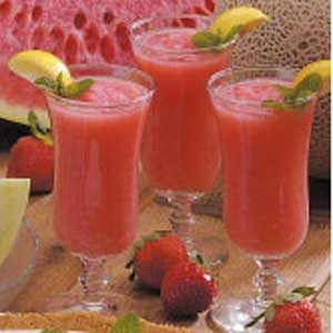 Melon Fruit Slush Recipe