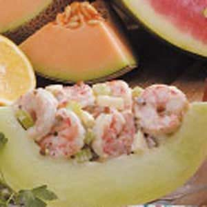 Honeydew Shrimp Salad Recipe