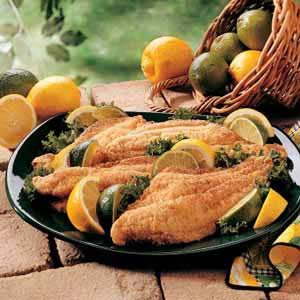 Golden Catfish Fillets Recipe
