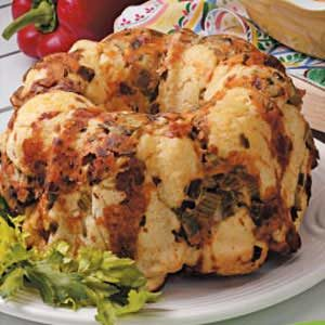 Veggie Pull-Apart Bread Recipe