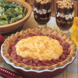 Tomato Bacon Pie Recipe