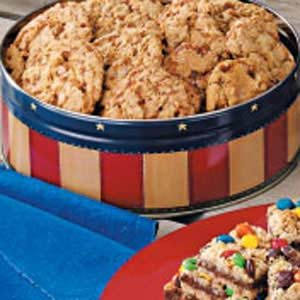 Toffee Oat Cookies