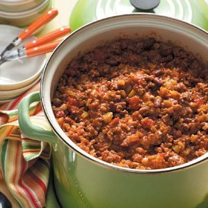 Church Supper Chili Recipe