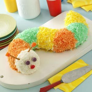 Caterpillar Cake Recipe