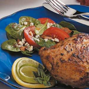 Tomato Bacon Spinach Salad Recipe
