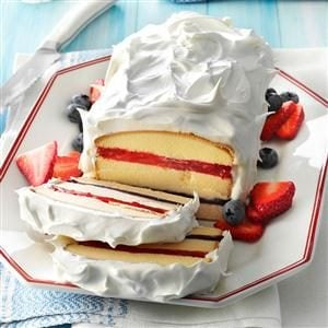 Red, White 'n' Blue Torte Recipe