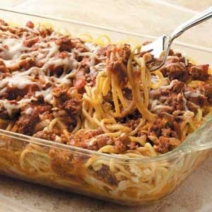 Rich Baked Spaghetti Recipe