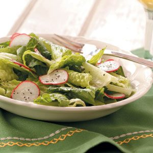 Greens with Vinaigrette Recipe
