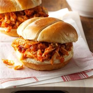 BBQ Chicken Sandwiches Recipe