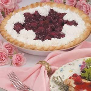 Fresh Glazed Raspberry Pie Recipe