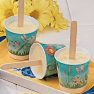 Pineapple Ice Pops Recipe