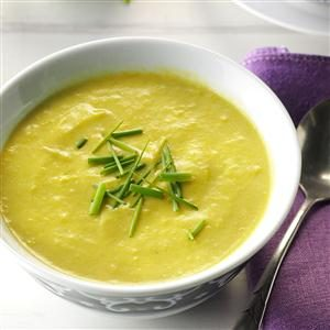 Fresh Asparagus Soup Recipe