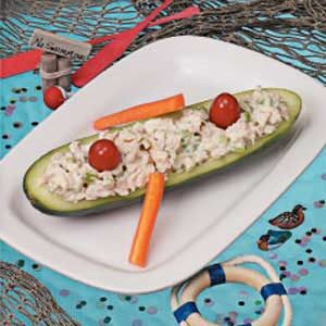 Cucumber Canoes Recipe