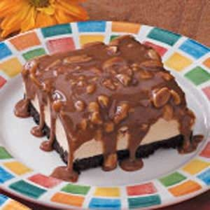 Peanut Ice Cream Squares Recipe