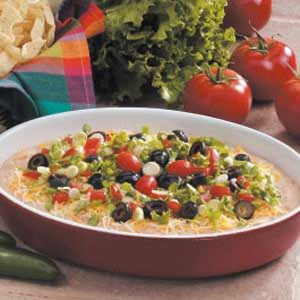 Fiesta Dip Recipe photo by Taste of Home