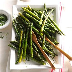 Tarragon Asparagus side recipe