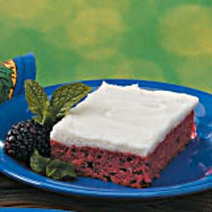 Frosted Blackberry Cake Recipe