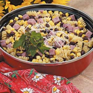 Bean and Ham Pasta Recipe