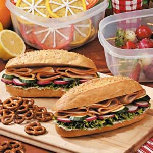 Turkey Dill Subs Recipe