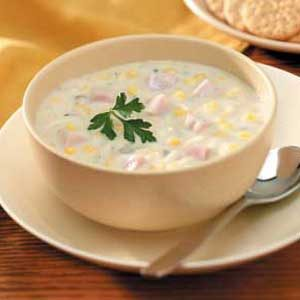 Slow-Cooked Corn Chowder Recipe