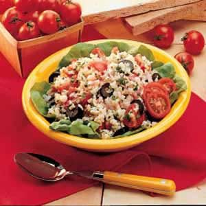Summer Rice Salad Recipe