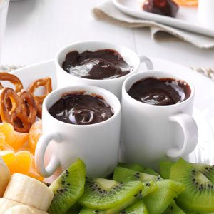 Chocolate Caramel Fondue Recipe