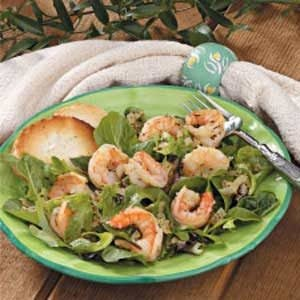 Warm Shrimp Salad Recipe