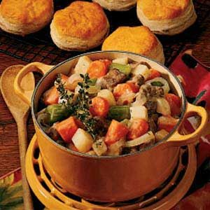 Cider Beef Stew Recipe