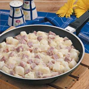 Potato Ham Skillet Recipe