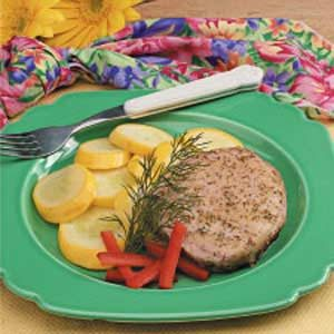 Dilly Pork Chops Recipe
