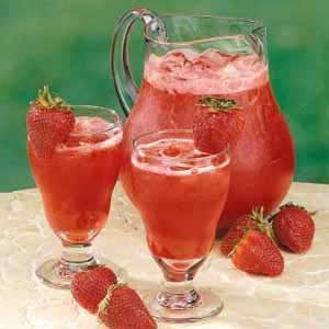 Strawberry cooler recipe taste of home for California iced tea recipe