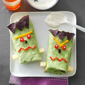 Frankenstein Boo-ritos Recipe