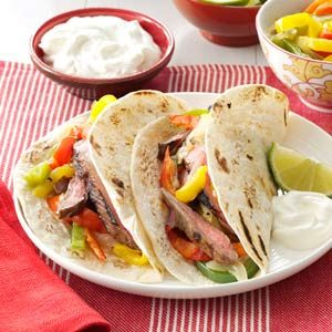 Grilled Fajitas Recipe